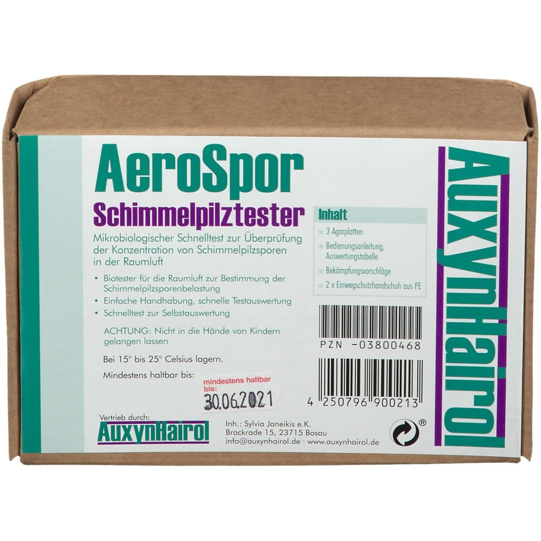 AeroSpor Schimmelpilz Raumlufttest