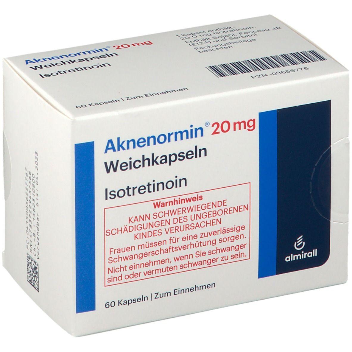 Aknenormin® 20 mg 60 St - shop-apotheke.com