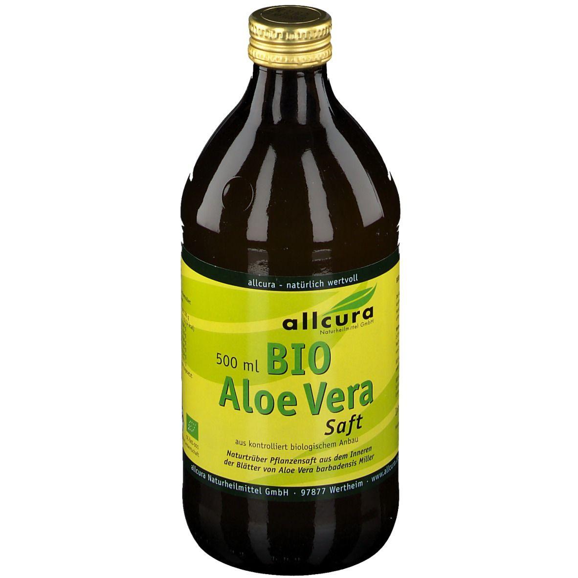 Saft zum Abnehmen mit Aloe Vera