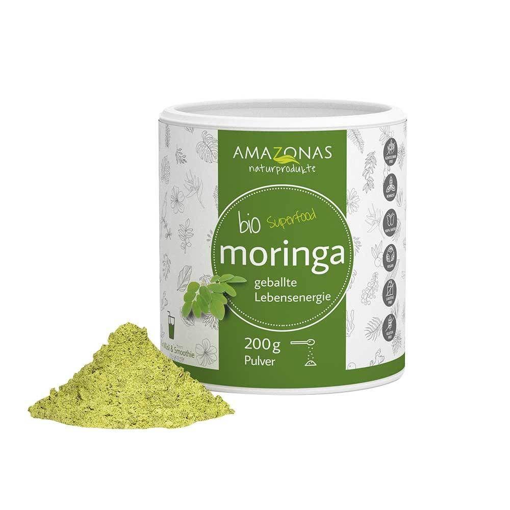 AMAZONAS Bio Moringa Blattpulver