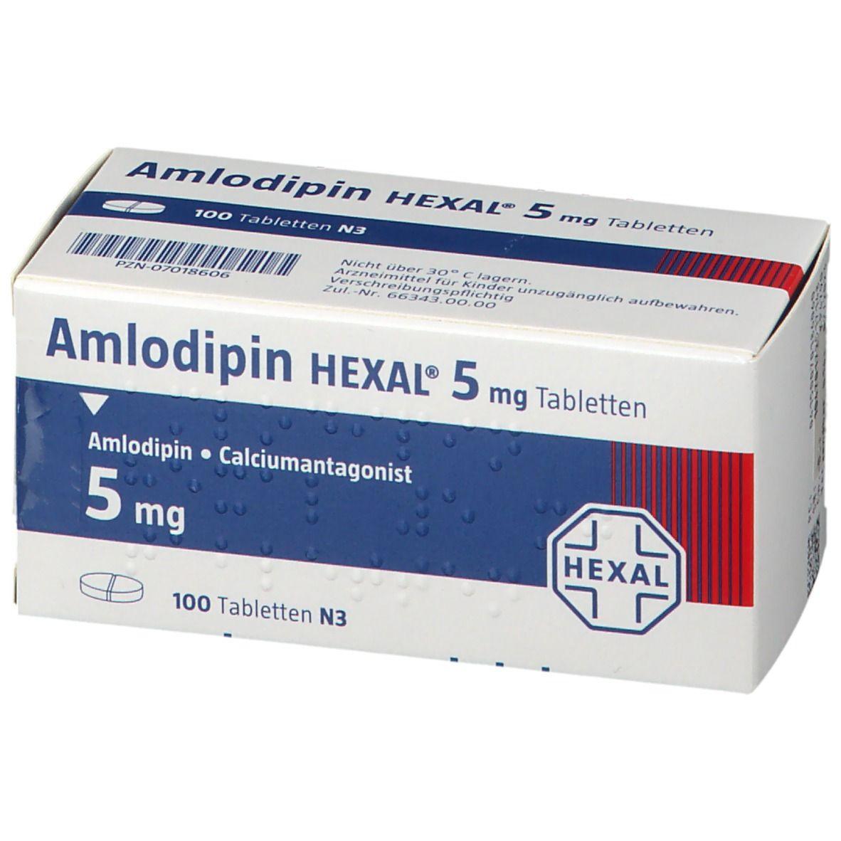Amlodipin Orion 5 Mg