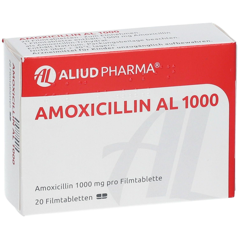 Amoxicillin Al 1000 Erfahrungen