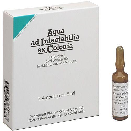 Aqua ad Iniectabilia ex Colonia