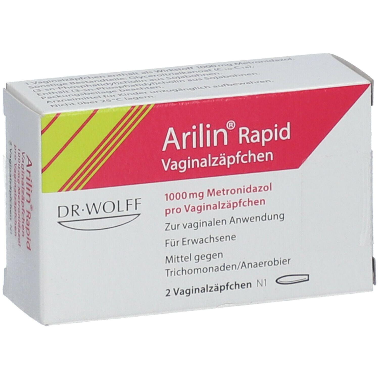 Wann arilin besserung zäpfchen Vaginalzäpfchen?! (Bakterielle