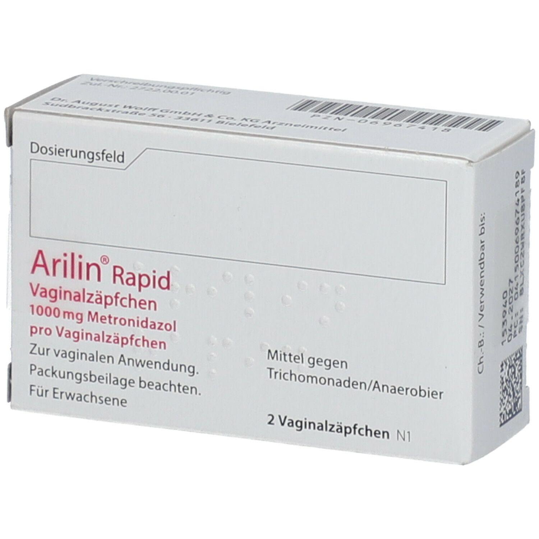 Arilin zäpfchen wann besserung