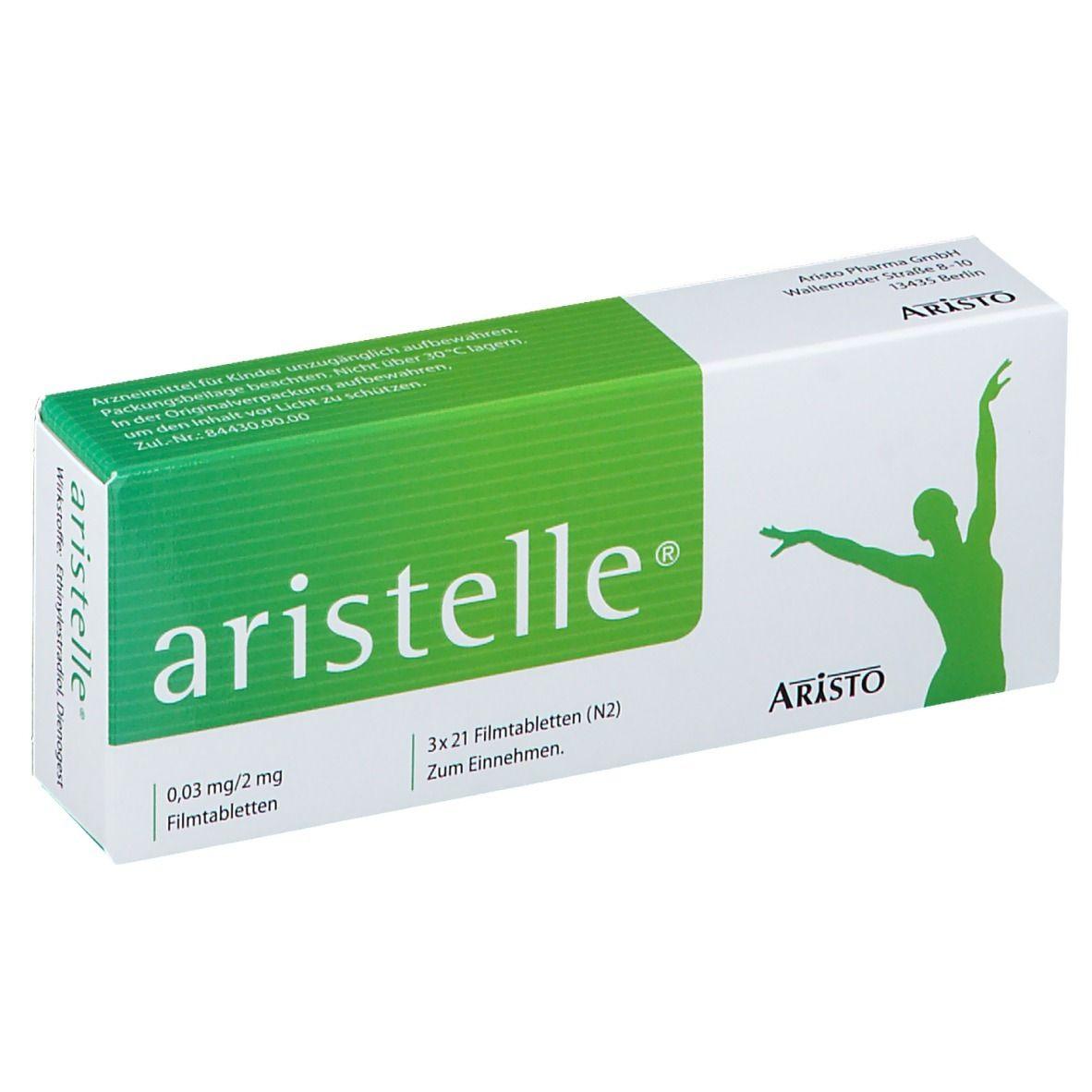 Erfahrungen aristelle pille Aristelle ohne