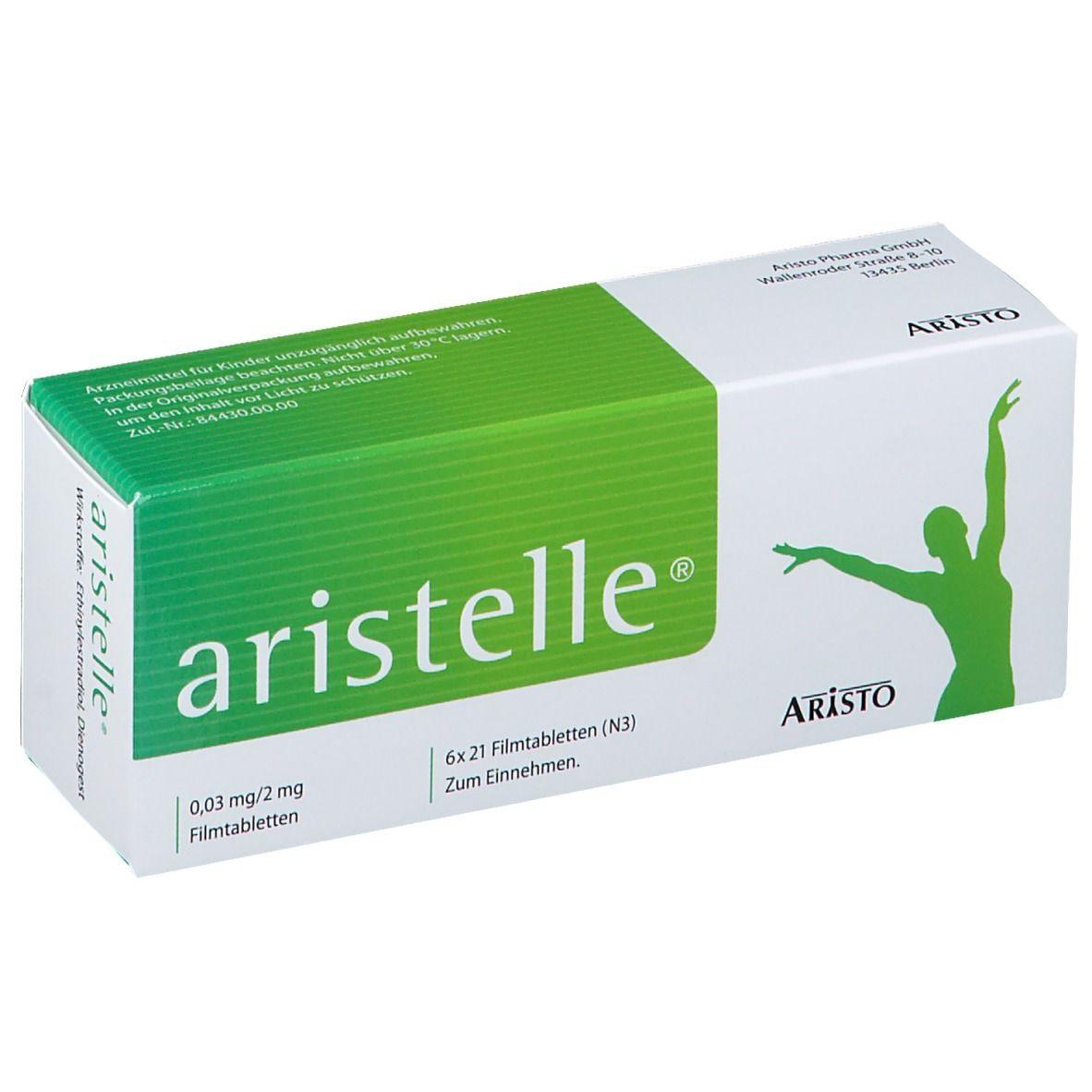 aristelle® 0,03 mg/2 mg 6X21 St - shop-apotheke.com