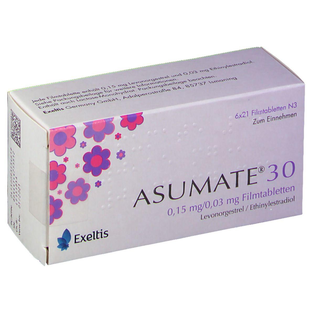 asumate 20 packungsbeilage