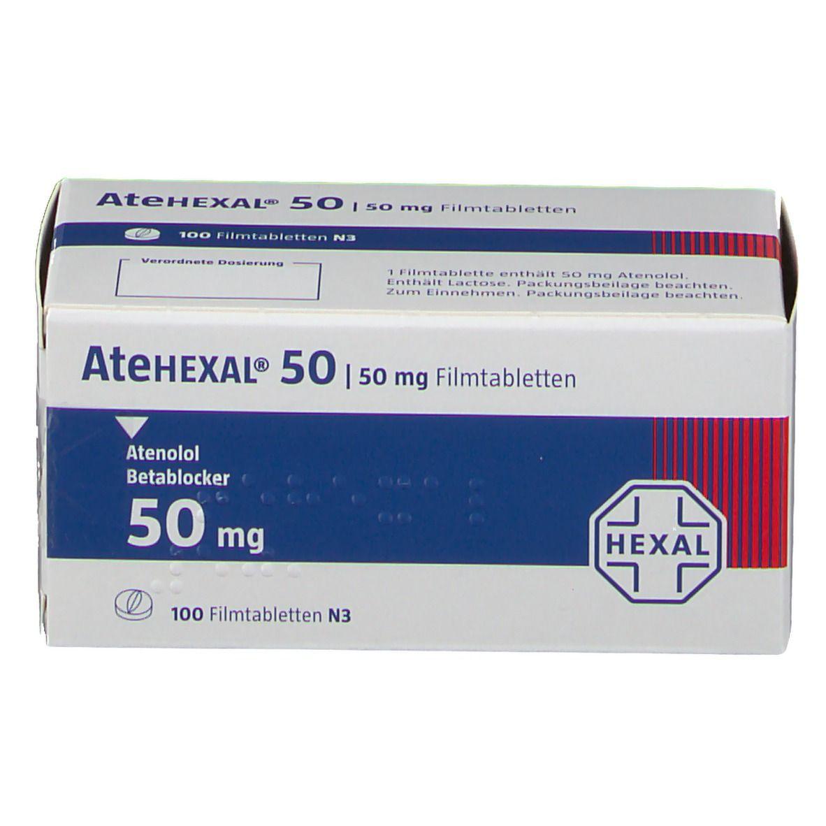 Atehexal 50 Filmtabletten