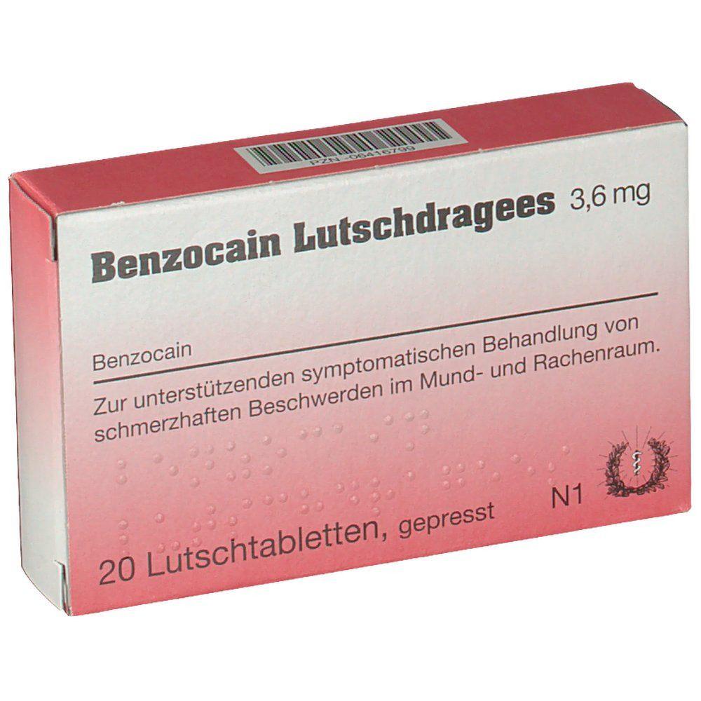 Salbe kaufen benzocain Anaestherit® 10%