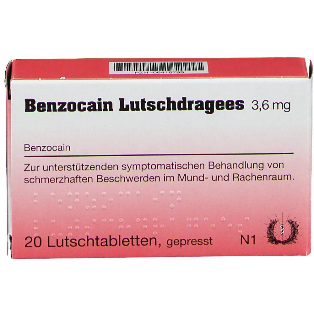 Kaufen benzocain salbe Anaestherit 10%