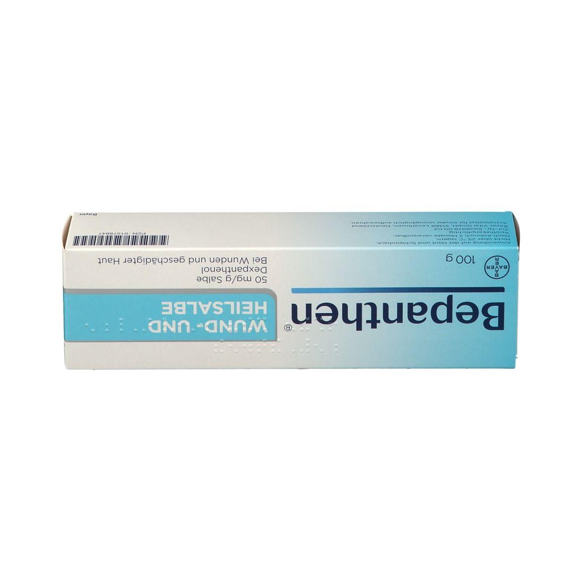 Für intimbereich bepanthen Antiseptische Wundcreme