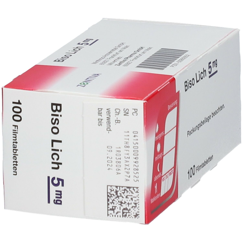 Biso Lich® 5 mg Filmtabletten