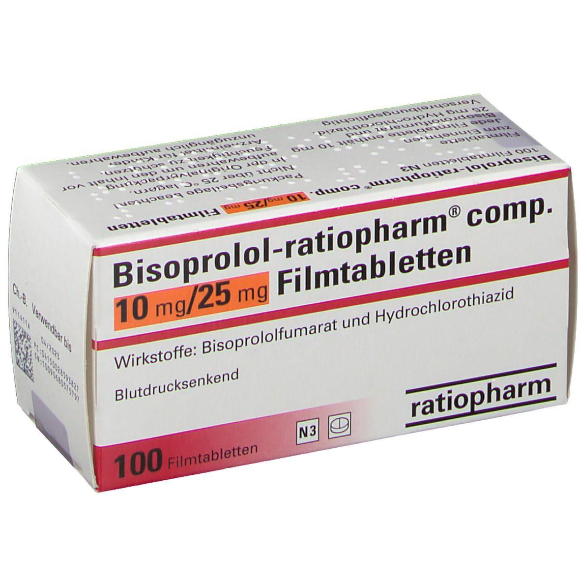 Bisoprolol 1 25 Mg Ausschleichen