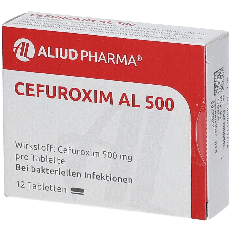Cefuroxim 500 erfahrungsberichte