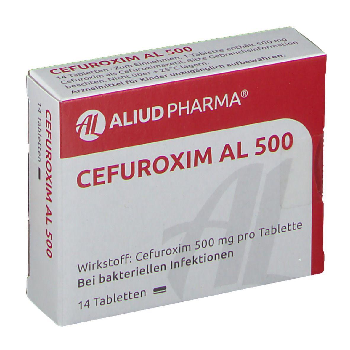 CEFUROXIM AL 500 Tabletten