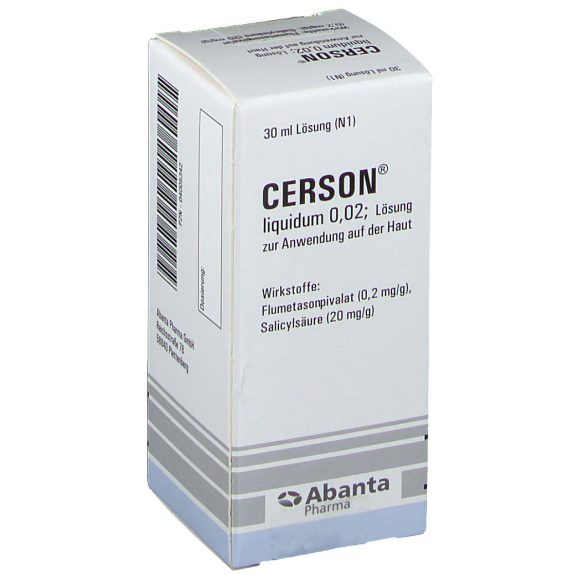 Cerson Liquidum 0,02