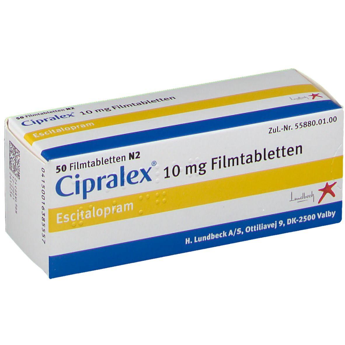 Zypralex Cipralex: Uses,