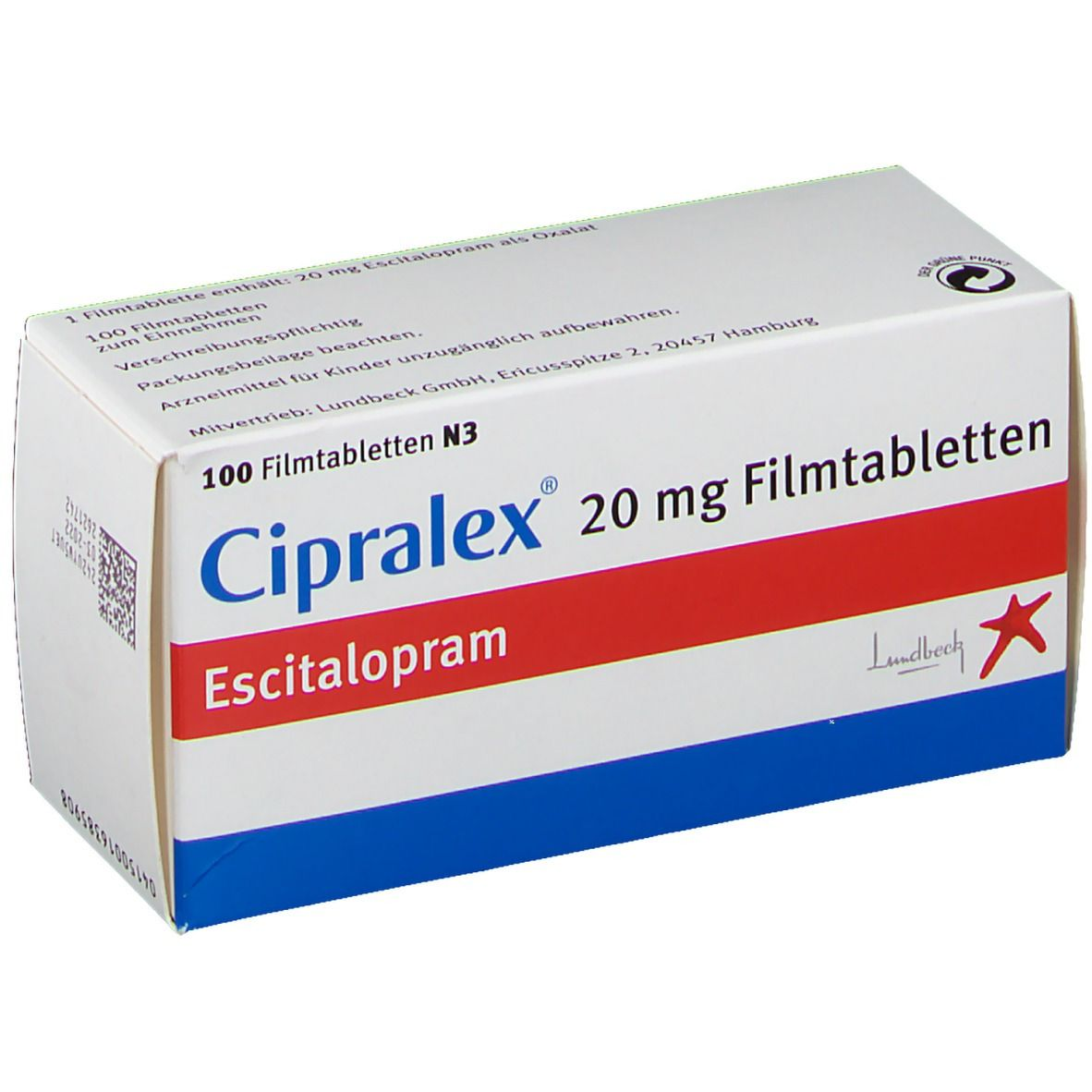 Cipralex 20 mg Filmtabletten