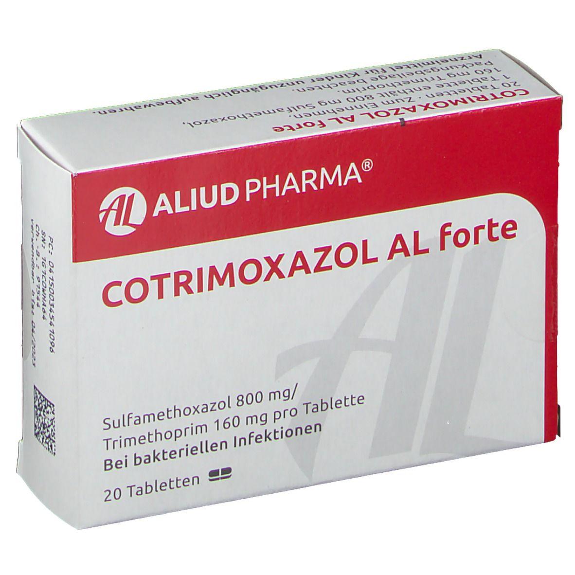 Cotrimoxazol AL forte 20 St - shop-apotheke.com