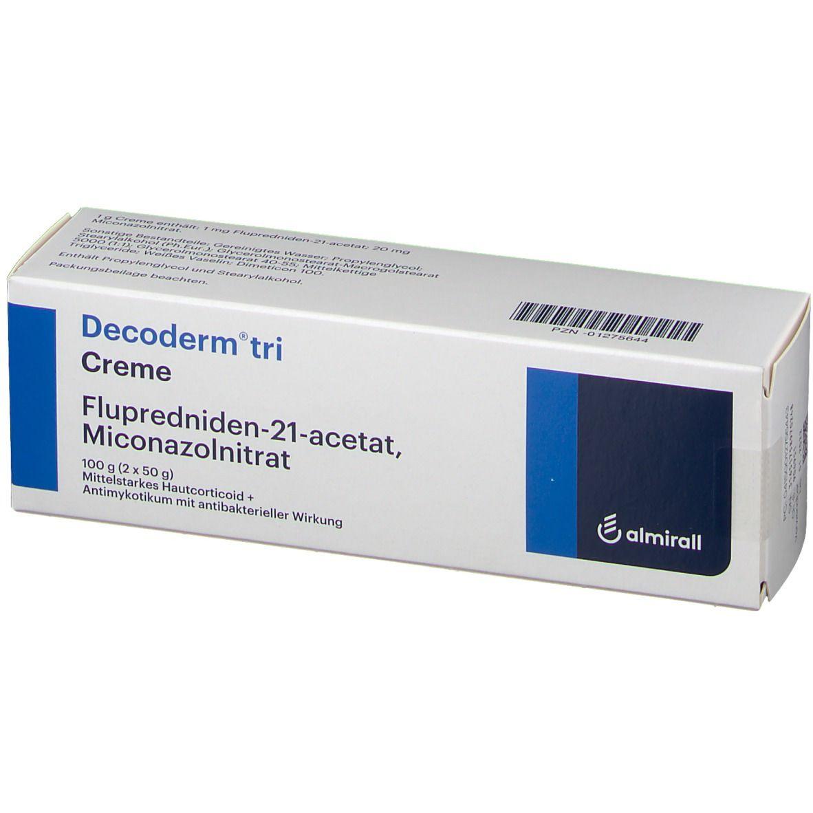 Tri erfahrungen decoderm Decoderm TRI: