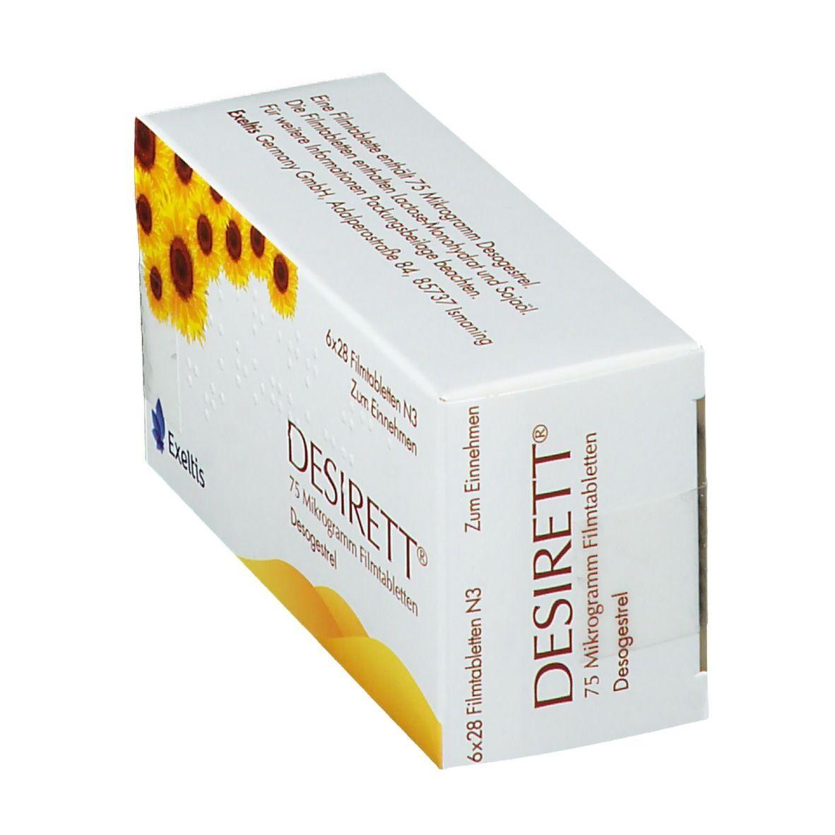 Erfahrungen desirett pille Desirett Coated