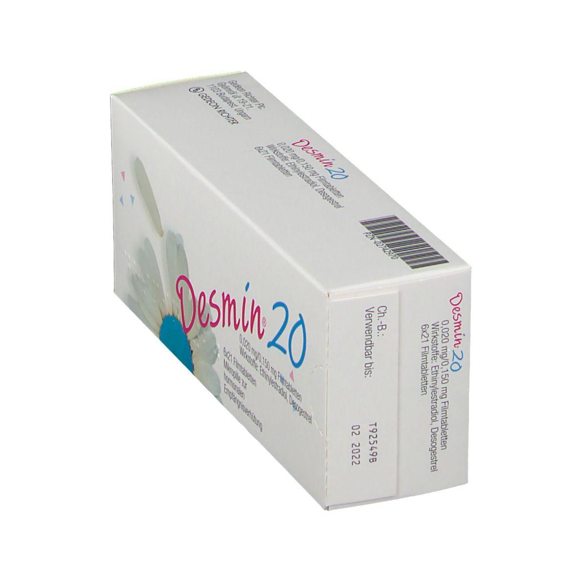 Pille desmin 20 Desmin 20