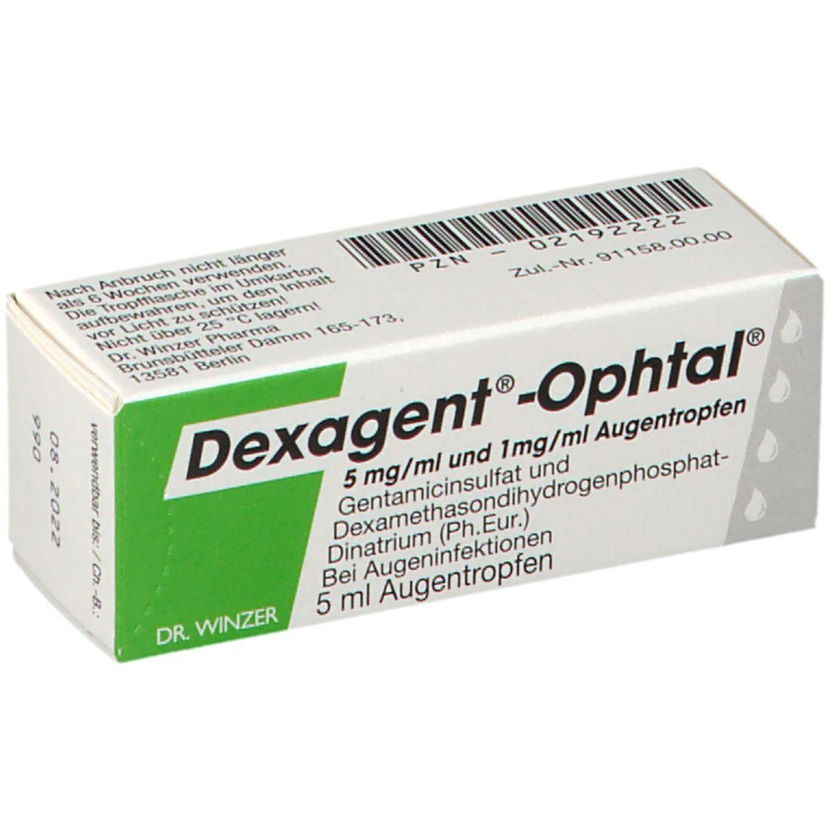 Bindehautentzündung gent ophtal Gentamicin
