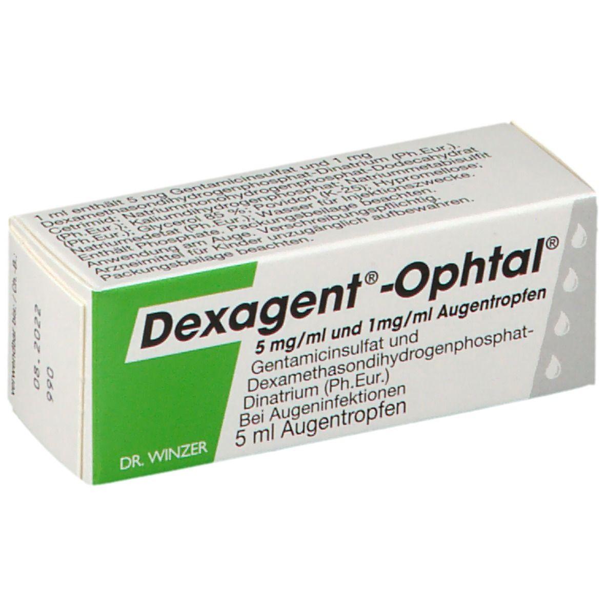 DEXAGENT Ophtal 5 ml - shop-apotheke.com