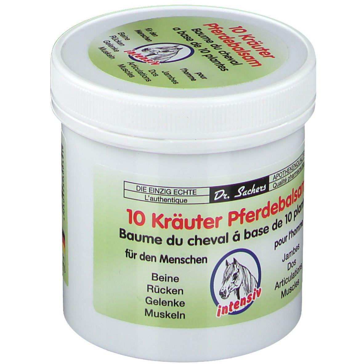 Dr. Sachers 10 Kräuter Pferdebalsam