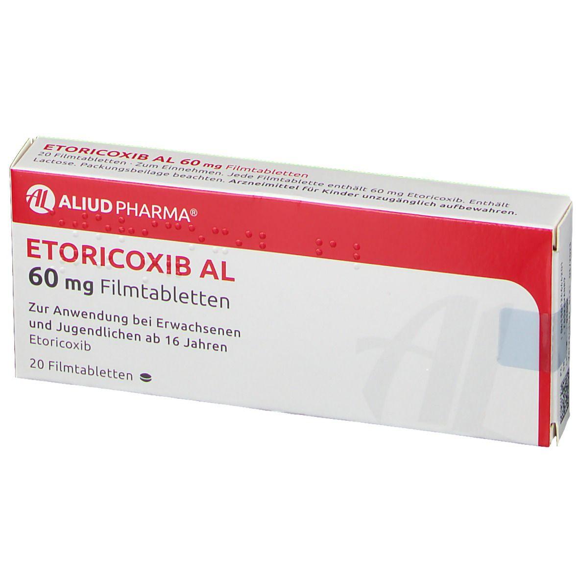 ETORICOXIB AL 60 mg Filmtabletten