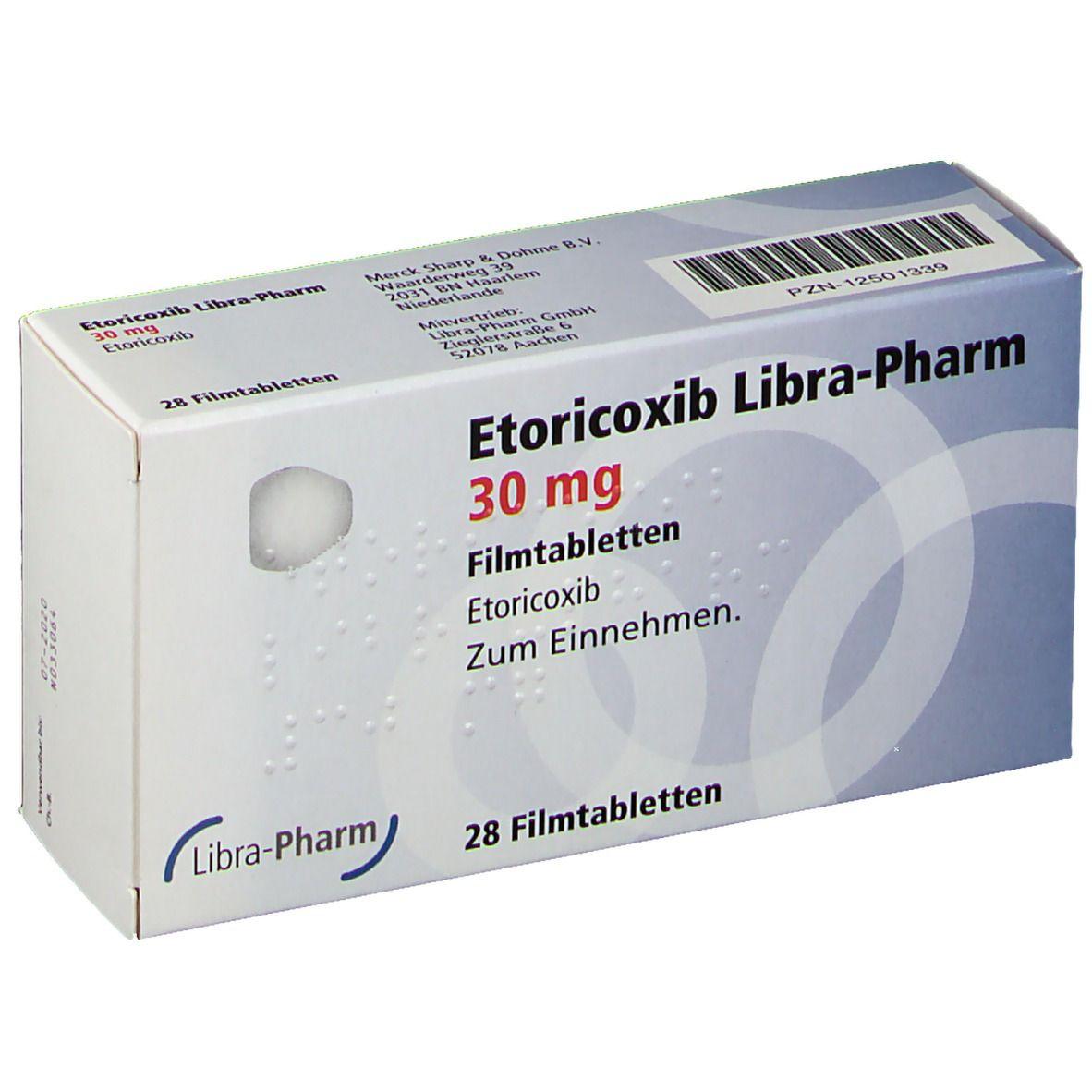 ETORICOXIB Libra-Pharm 30 mg Filmtabletten
