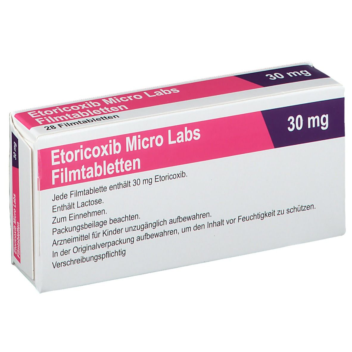 ETORICOXIB Micro Labs 30 mg Filmtabletten