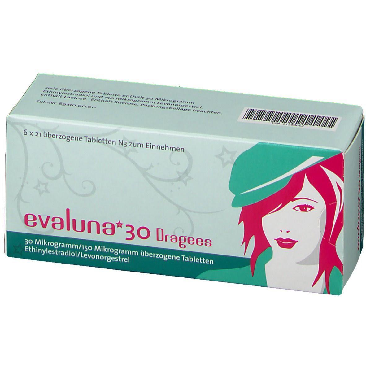 Evaluna 30 nebenwirkungen