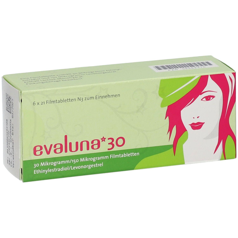 Nebenwirkungen evaluna 30 EN EXCLUSIVA: