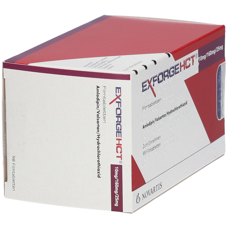Exforge Hct 10/160/25 mg Filmtabletten 98 St - shop ...