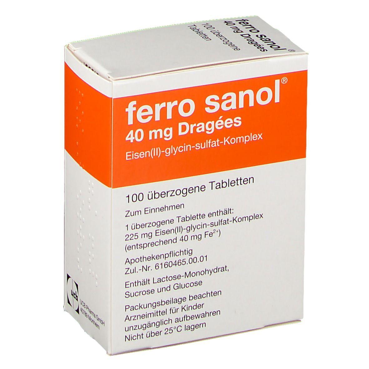 Ferro Sanol Durchfall