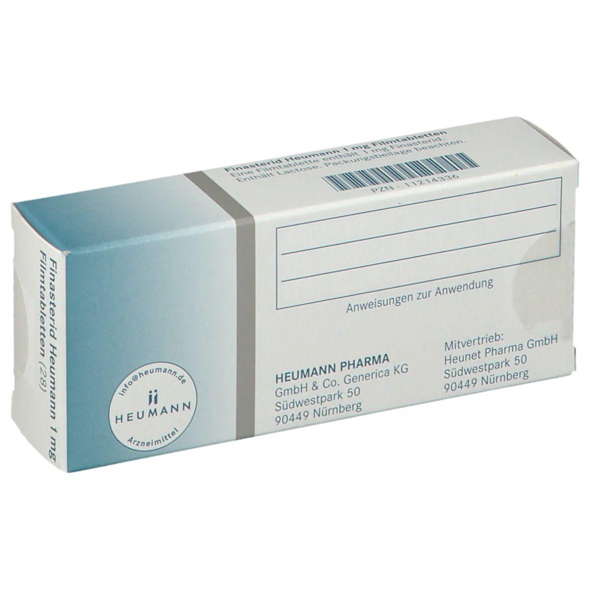 Finasterid Heumann 20 mg 20 St   shop apotheke.com
