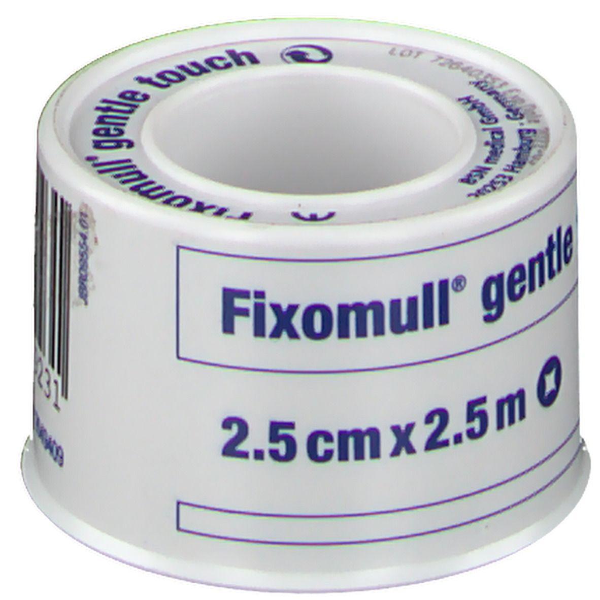 Fixomull® gentle touch 2,5 cm x 2,5 cm