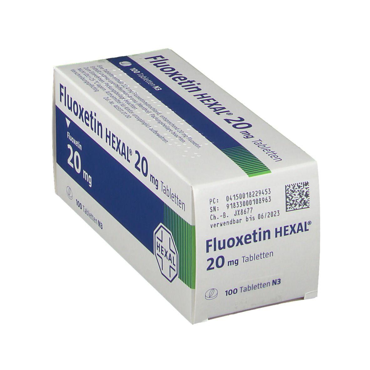Wie man Fluoxetin 20 mg zur Gewichtsreduktion einnimmt