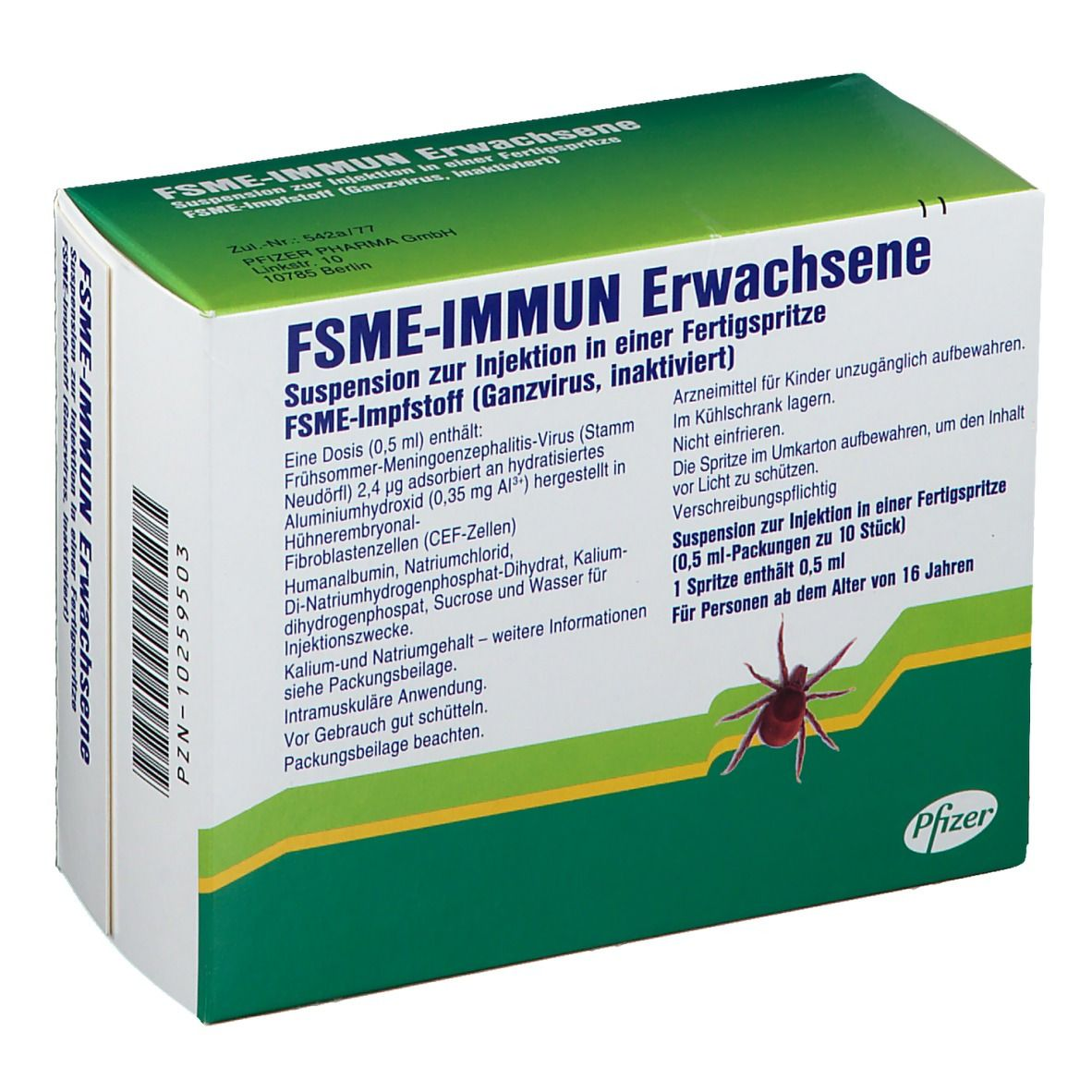 Fsme Immun Erwachsene 10 St Shop Apotheke Com
