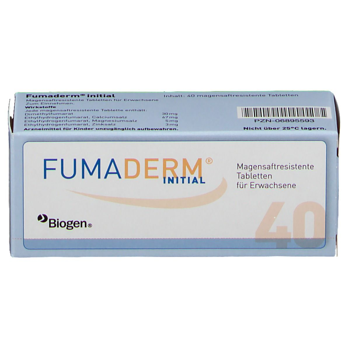 Fumaderm initial