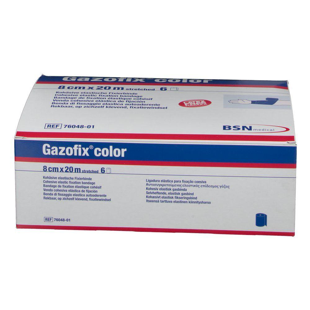Gazofix® color 8 cm x 20 m blau