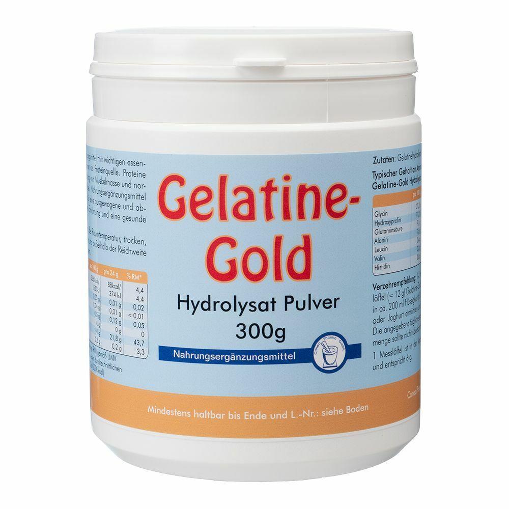 Gelatine-Gold Hydrolysat Pulver