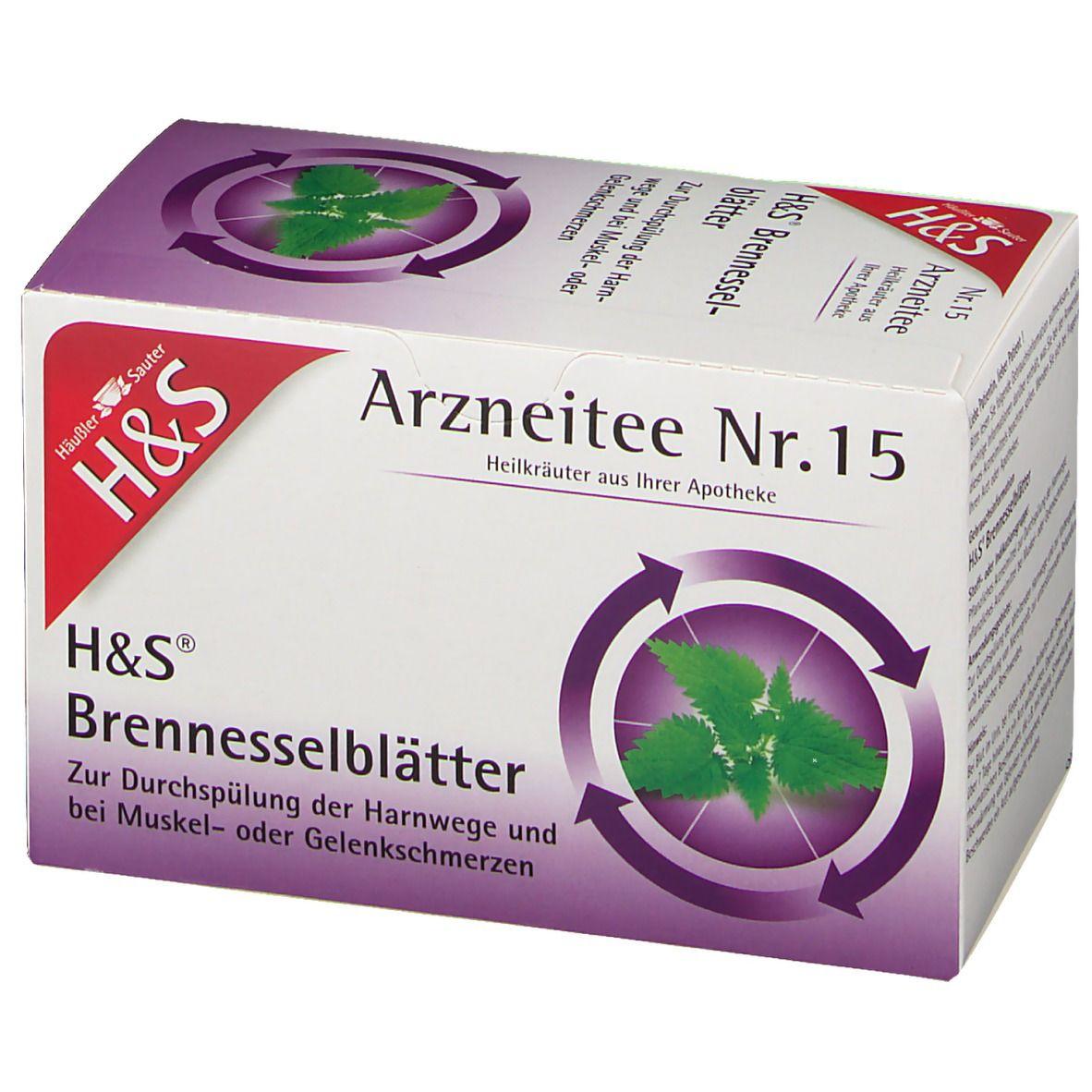 H&S Brennesselkraut Nr. 15 20X1.6 g - shop-apotheke.com