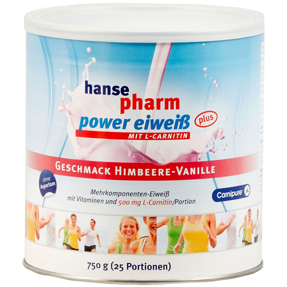 Hansepharm Power Eiweiß Plus Himbeere Vanille