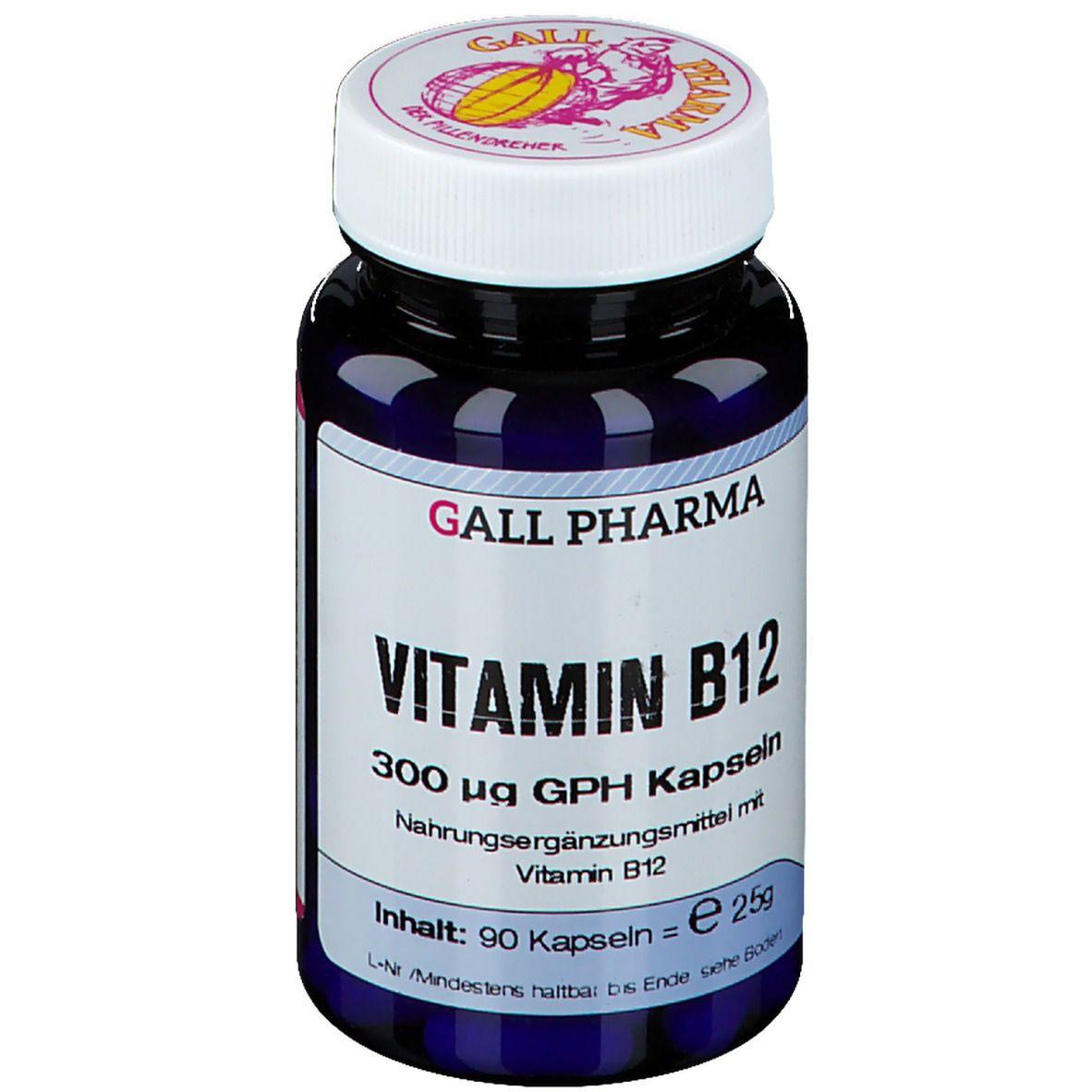 Hecht Vitamin B12 300 µg GPH