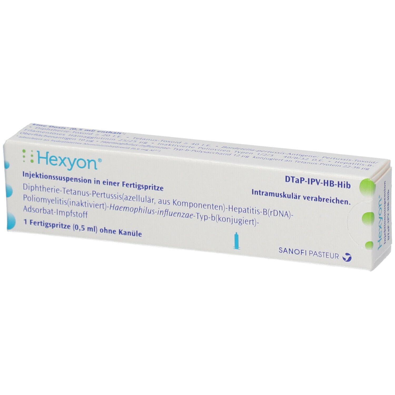 Hexyon 0 5 Ml Shop Apotheke Com