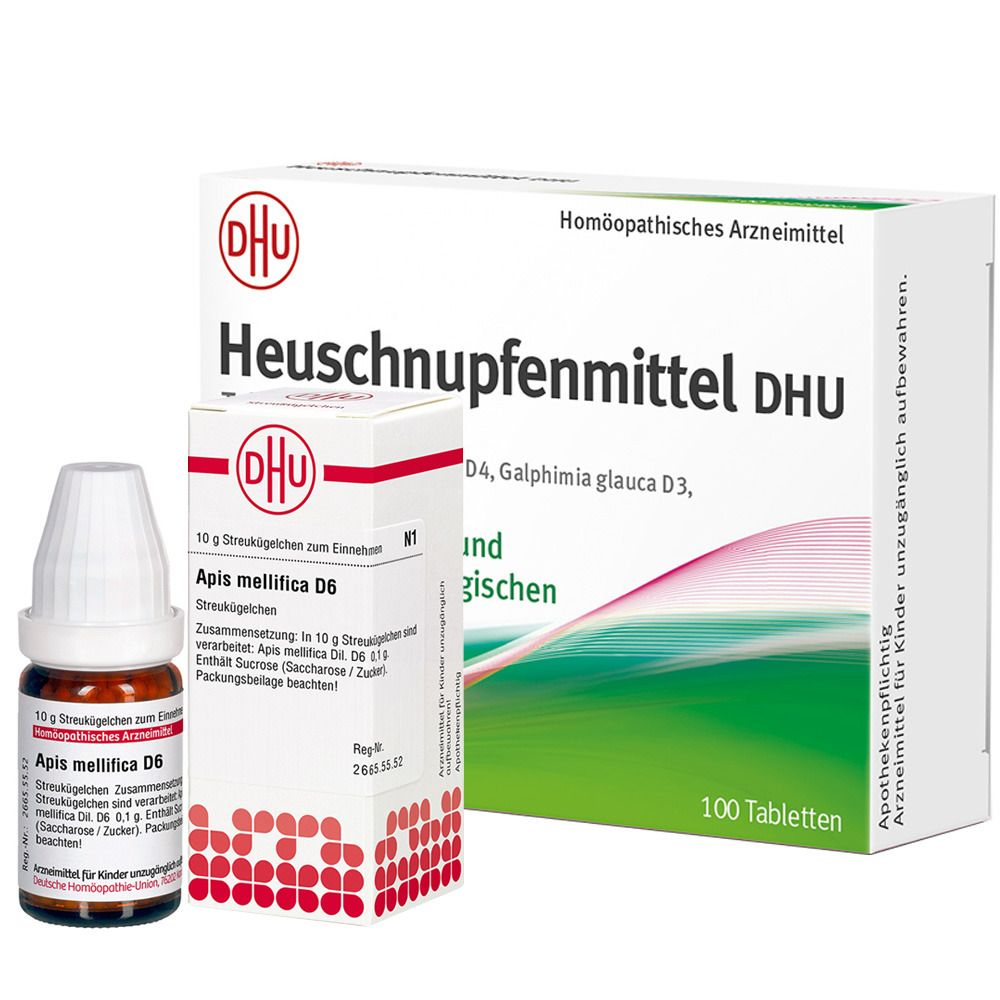 Homöopathie Frühlings-Set