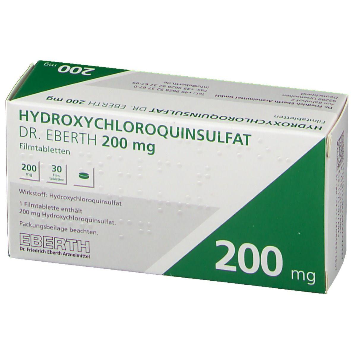 kaufen hydroxychloroquin 200mg mit versand